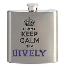 Cute Calm dive Flask