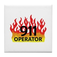 911 OPERATOR Tile Coaster