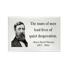 Henry David Thoreau 27 Rectangle Magnet