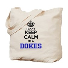 Funny Dokee Tote Bag