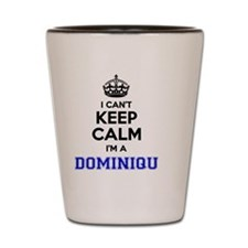 Funny Dominique Shot Glass