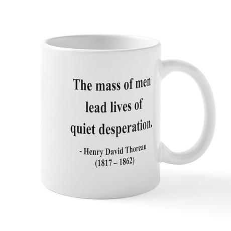 Henry David Thoreau 27 Mug