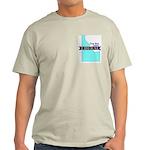 Ash Gray T-Shirt for a True Blue Idaho LIBERAL