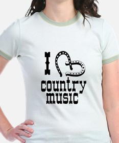 I Love Country Music T
