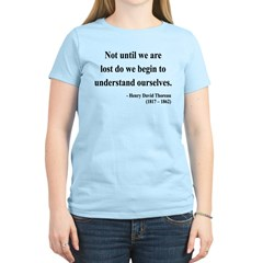 Henry David Thoreau 28 Women's Light T-Shirt