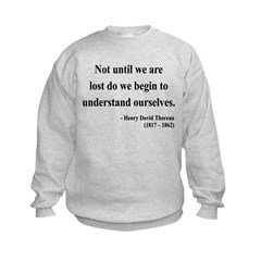 Henry David Thoreau 28 Sweatshirt