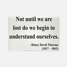 Henry David Thoreau 28 Rectangle Magnet