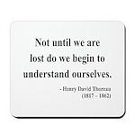 Henry David Thoreau 28 Mousepad