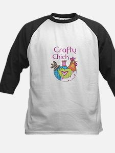 Craftly Chick Baseball Jersey