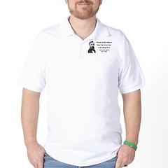 Henry David Thoreau 29 Golf Shirt