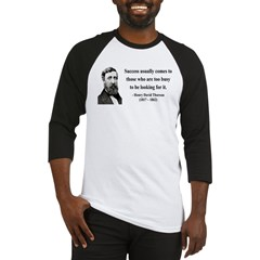 Henry David Thoreau 29 Baseball Jersey