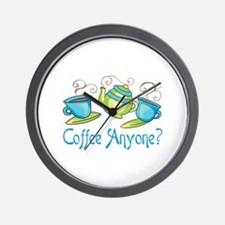 Coffee Anyone? Wall Clock
