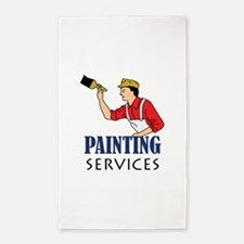 PAINTING SERVICES Area Rug