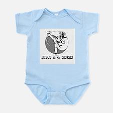 'Jesus Is My Sensei' Infant Creeper