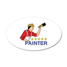 FIVE STAR PAINTER Wall Decal