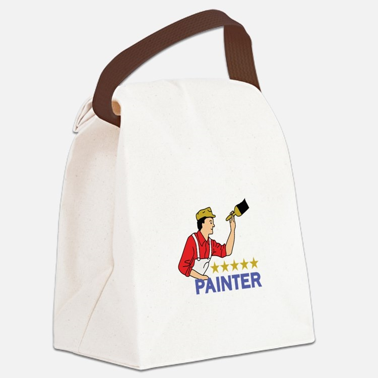 FIVE STAR PAINTER Canvas Lunch Bag