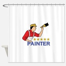 FIVE STAR PAINTER Shower Curtain