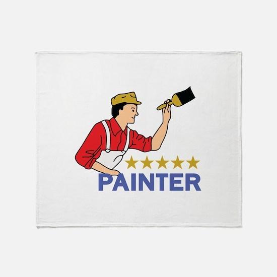 FIVE STAR PAINTER Throw Blanket