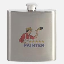 FIVE STAR PAINTER Flask