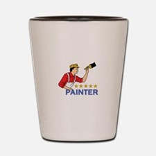 FIVE STAR PAINTER Shot Glass
