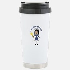 CLEANING SERVICE Travel Mug