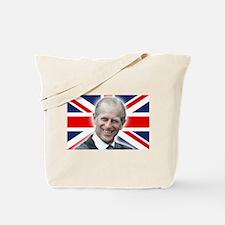 HRH Prince Philip - Great Britons! Tote Bag