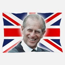 HRH Prince Philip - Great Britons! Pillow Case