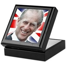 HRH Prince Philip - Great Britons! Keepsake Box