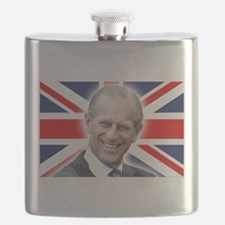 HRH Prince Philip - Great Britons! Flask