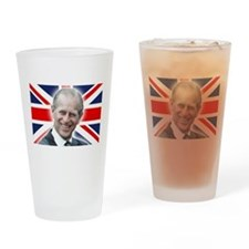 HRH Prince Philip - Great Britons! Drinking Glass