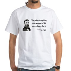 Henry David Thoreau 30 Shirt