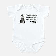 Henry David Thoreau 30 Infant Bodysuit