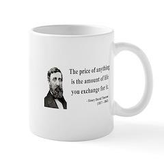 Henry David Thoreau 30 Mug