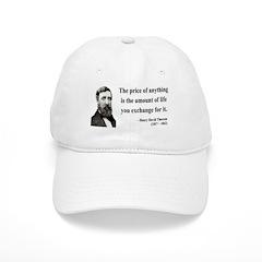 Henry David Thoreau 30 Baseball Cap