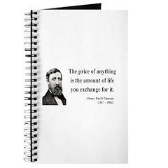 Henry David Thoreau 30 Journal