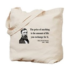 Henry David Thoreau 30 Tote Bag