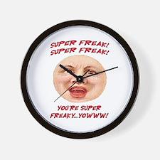 SUPER FREAK Wall Clock