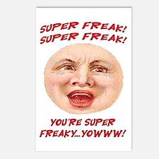 SUPER FREAK Postcards (Package of 8)