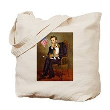 Lincoln's Beagle Tote Bag