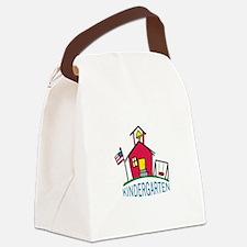 KINDERGARTEN SCHOOL Canvas Lunch Bag