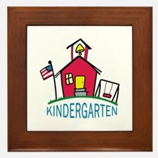 KINDERGARTEN SCHOOL Framed Tile