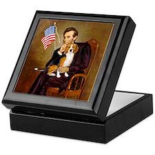 Lincoln's Beagle Keepsake Box
