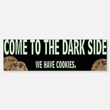 Dark Side Bumper Bumper Bumper Sticker