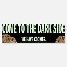 Dark Side Bumper Car Car Sticker