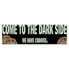 Dark Side Bumper Car Sticker