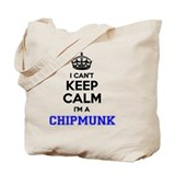 Chipmunk Totes & Shopping Bags