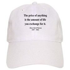 Henry David Thoreau 30 Baseball Cap