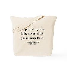 Henry David Thoreau 30 Tote Bag