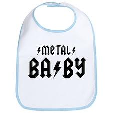 Metal Baby! Bib
