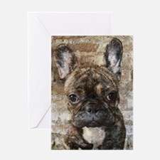 I LUV FRENCHIES Greeting Card